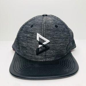 9Fifty Original Fit Black Snapback Hat A180835